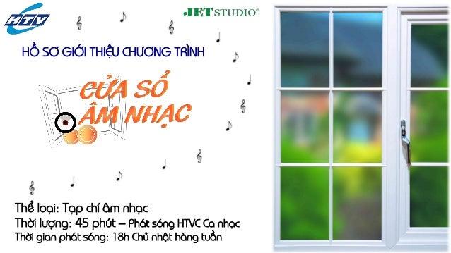 Thể loại: Tạp chí âm nhạcThời lượng: 45 phút – Phát sóng HTVC Ca nhạcThời gian phát sóng: 18h Chủ nhật hàng tuầnHỒ SƠ GIỚI...