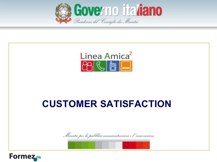 Click to edit Master title style  CUSTOMER SATISFACTION