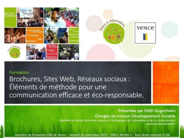 communication associative et d u00e9veloppement durable