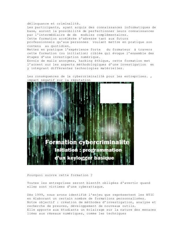 Formation cybercriminalite-alain-stevens Slide 2