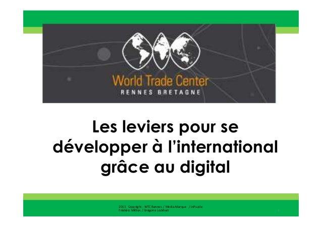 2013 Copyright : WTC Rennes / InPuzzle / Media-MarqueFrédéric Million / Grégoire Lockhart2013 Copyright : WTC Rennes / Med...