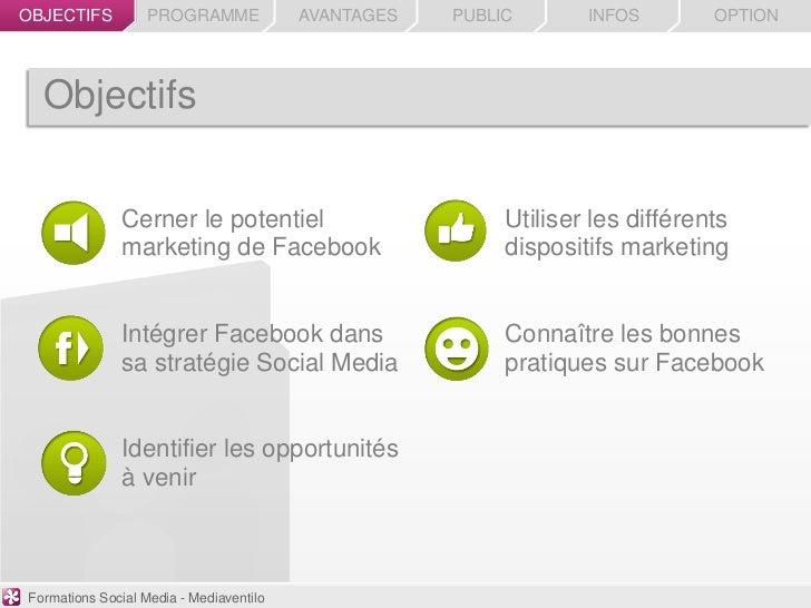 OBJECTIFS          PROGRAMME             AVANTAGES   PUBLIC       INFOS        OPTION  Objectifs               Cerner le p...