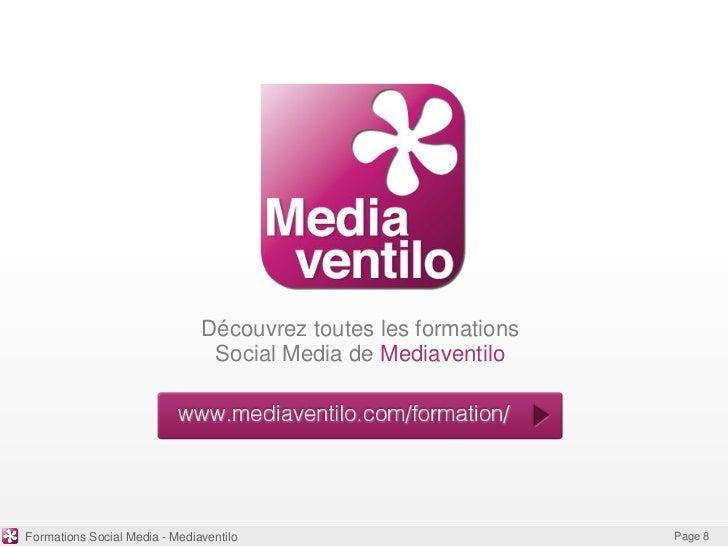 Découvrez toutes les formations                                Social Media de MediaventiloFormations Social Media - Media...