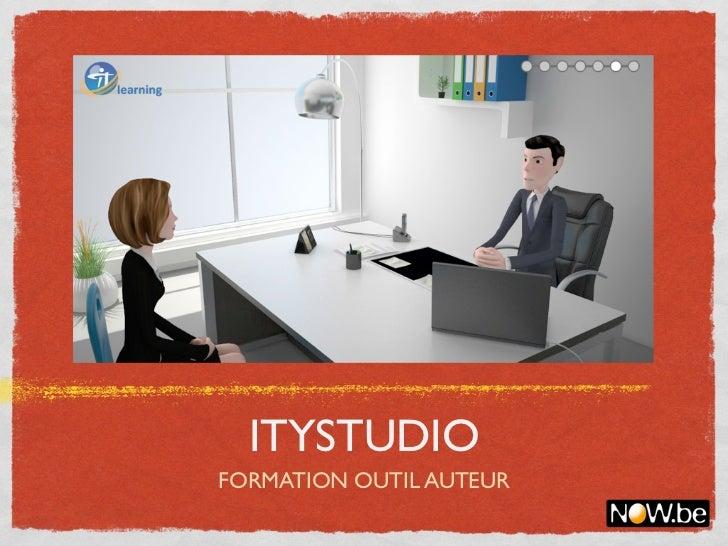 ITYSTUDIOFORMATION OUTIL AUTEUR