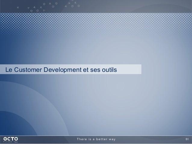 51  Le Customer Development et ses outils