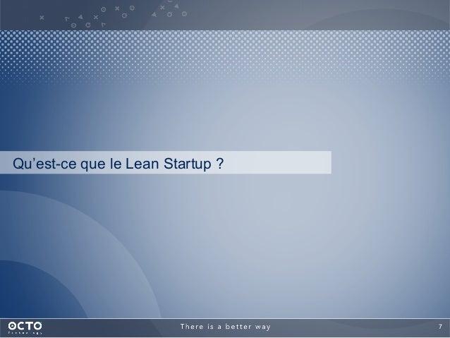 7  Qu'est-ce que le Lean Startup ?