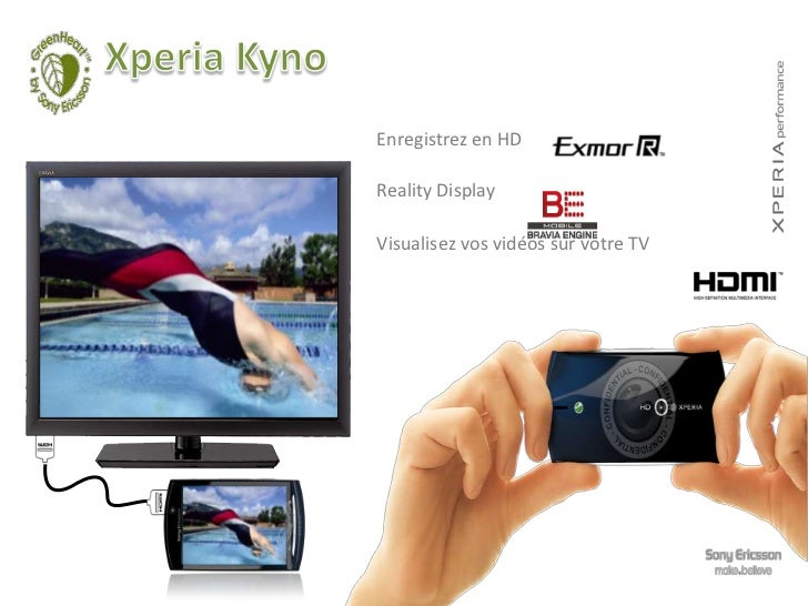 THE XPERIA COMPACT TOUCH & TEXTING   Écran 4,2''   Multipoints