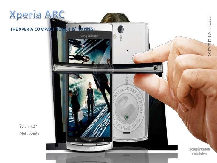 Xperia Ray    Sleek and irresistibly elegant                      9,6 mm slim                      Premium metal frame    ...