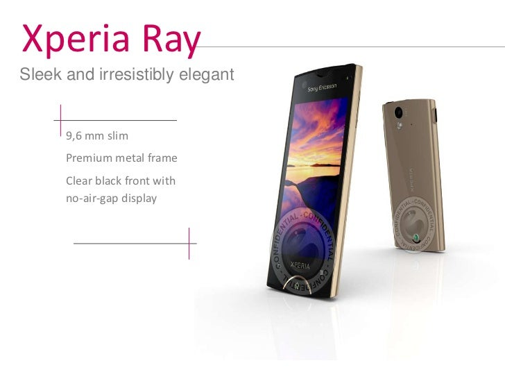 Xperia Active– specifications    Position in Portfolio                          Display experience                        ...