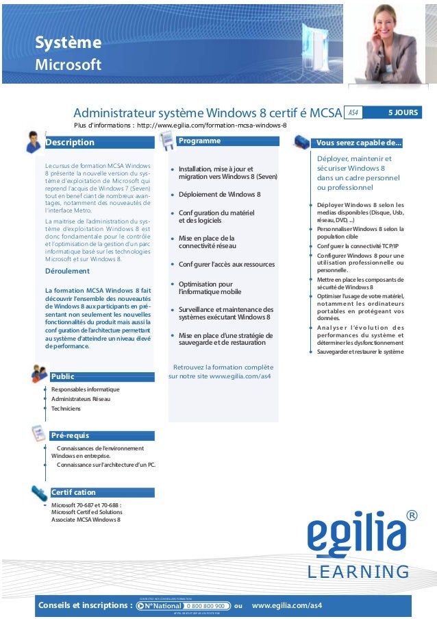formation administrateur syst u00e8me windows 8 mcsa