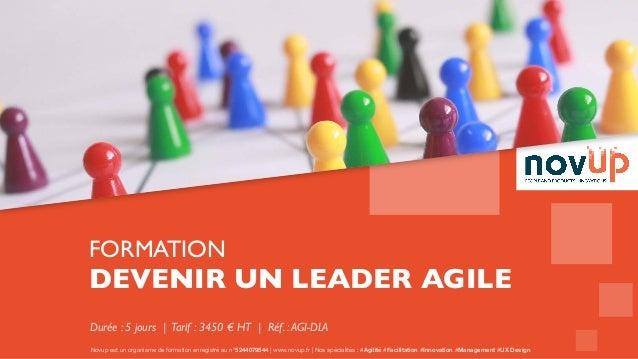 Novup est un organisme de formation enregistré au n°5244079544   www.novup.fr   Nos spécialités : #Agilité #Facilitation #...