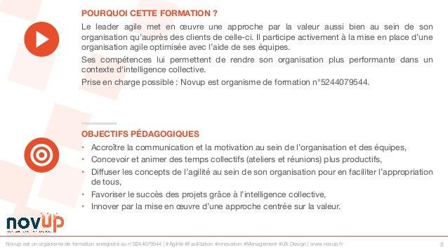 Formation agile - Devenir un leader agile Slide 2