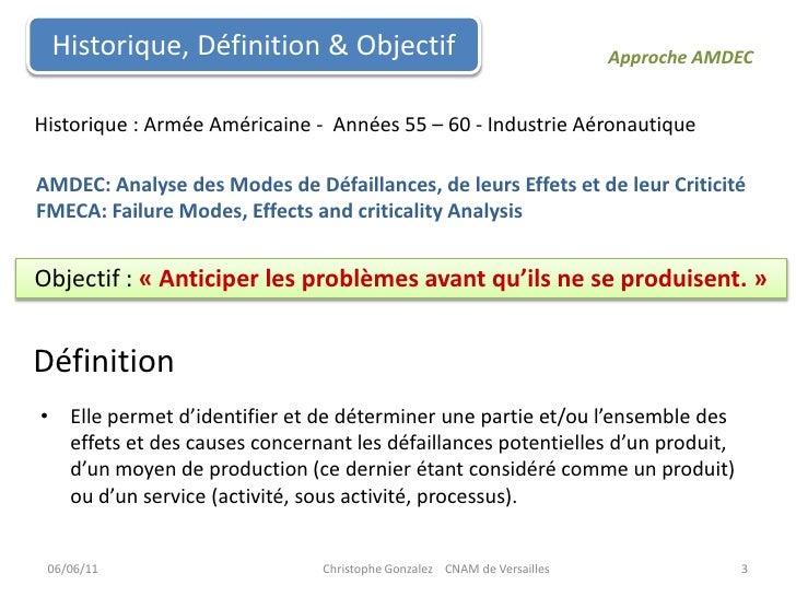 Formation AMDEC Slide 3