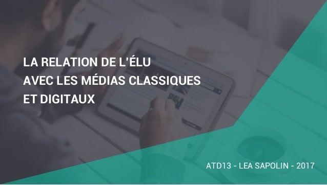 FORMATION RELATION PRESSE & RÉSEAUX SOCIAUX Slide 2