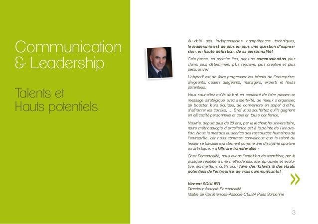 Formations aux techniques de communication 2014 - www.personnalite.fr  Slide 3