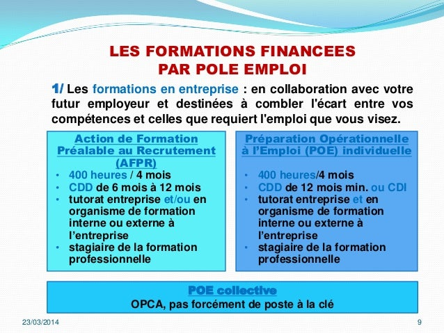 Formation competences - Formation cuisine collective pole emploi ...