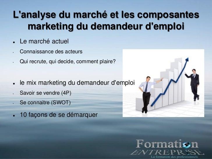 Formation E marketing pour demandeurs d'emploi Slide 3