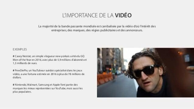 L'IMPORTANCE DE LA VIDÉO La majorité de la bande passante mondiale est canibalisée par la vidéo d'où l'intérêt des entrepr...