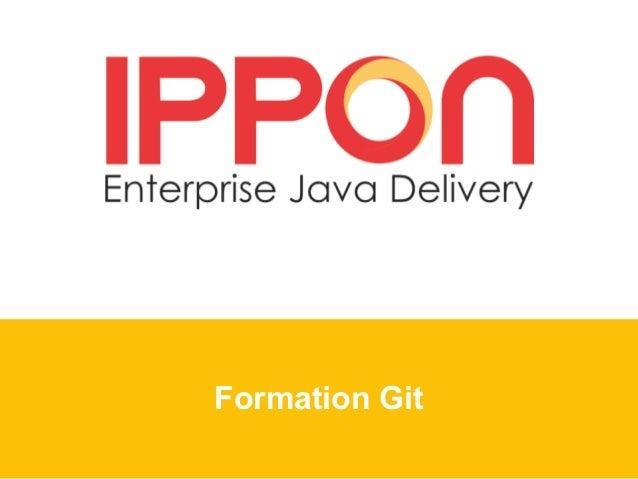 Formation Git