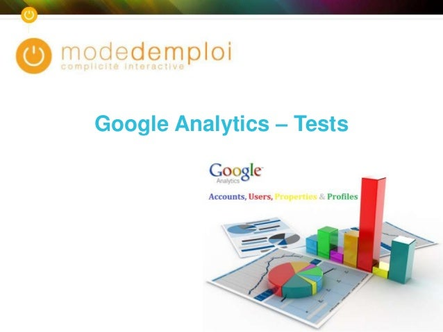 Google Analytics – Tests