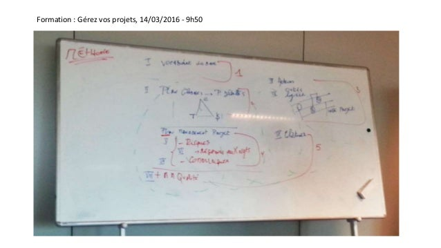 Formation : Gérez vos projets, 14/03/2016 - 9h50