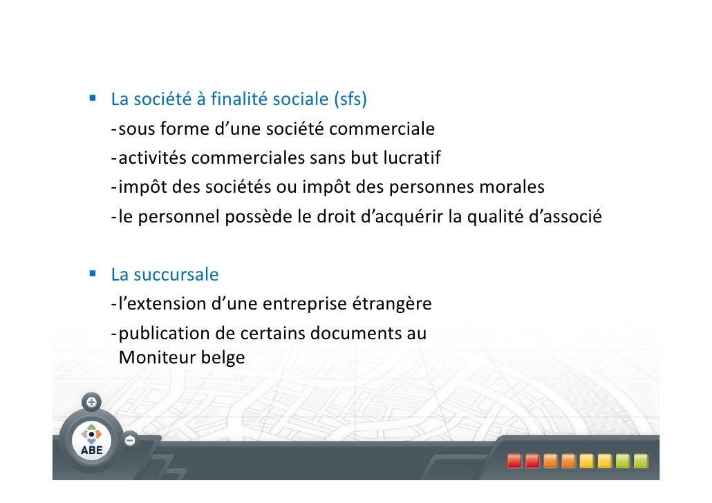 Formation Ibge Realites Choix Forme De L Entreprise Contrats F