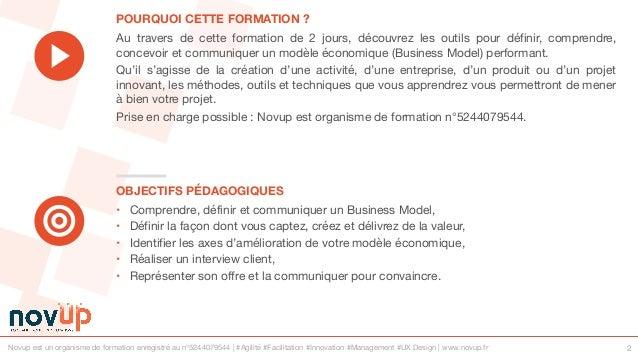 Formation innovation - Innover dans son business model Slide 2