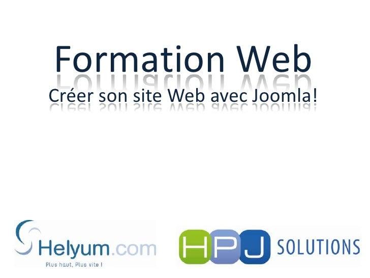 Formation WebCréer son site Web avec Joomla!<br />