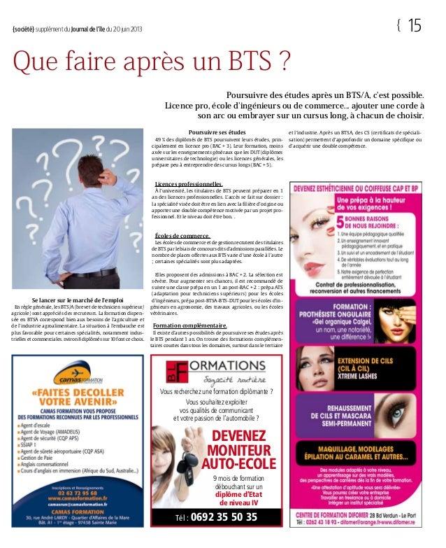 Dossier Emploi Formation Et Alternance A La Reunion Le Supplement