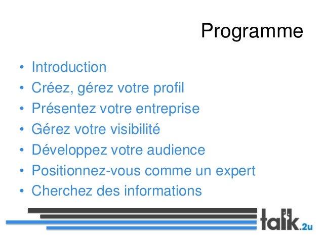 Linkedin - mode d'emploi pour développer votre business Slide 3