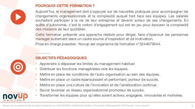 Formation management - Nouvelles pratiques de management Slide 2