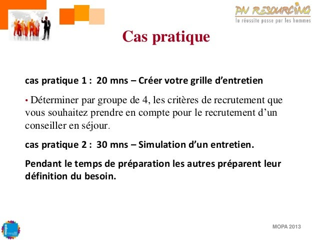 Formation mopa manager son quipe l 39 outil gpec for Definition du reglement interieur