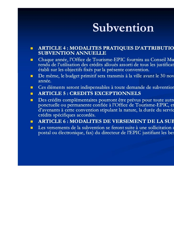 Instituer un office de tourisme de statut public epic r gie form - Office tourisme les mathes ...