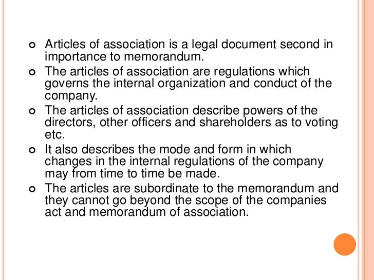 3- Rights of share holders regarding vote, dividend,   return of capital.4- Rules regarding the issue of shares and debent...