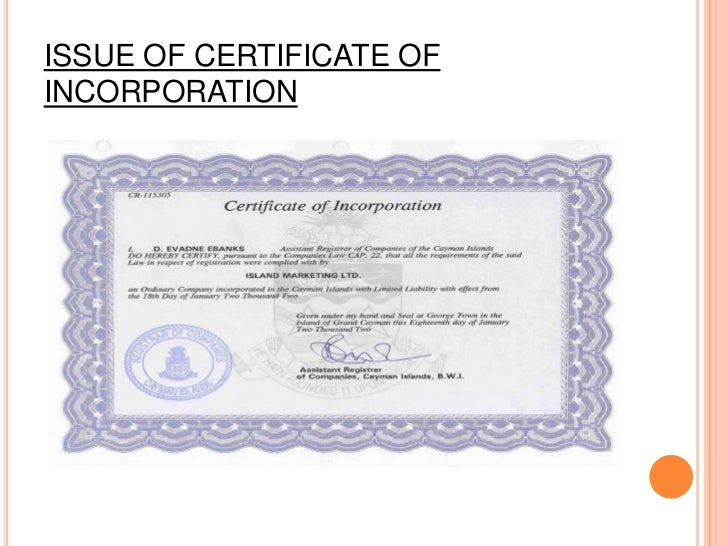 A PRIVATE COMPANY CAN STARTITS OPERATIONS IMMEDIATELYAFTER OBTAINING THECERTIFICATE OF INCORPORATION
