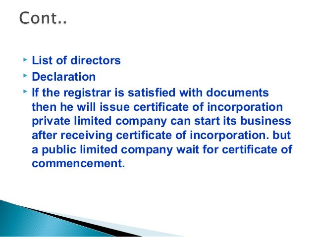 27bdd09b136 11.  After the receipt of certificate of incorporation ...