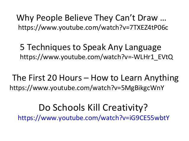 schools kill creativity summary essay Core reading is how schools kill creativity school 2 2 hours 27 min 10 finance for leisure finance university 12 2 hours 36 min are you looking for a.