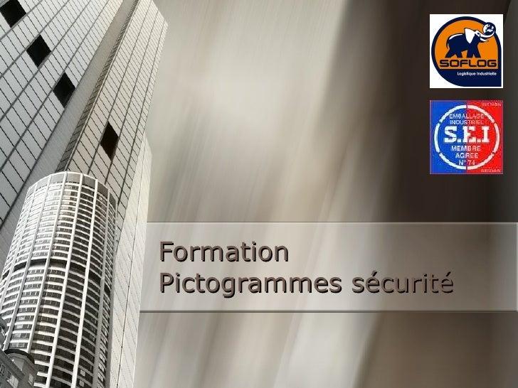 Formation Pictogrammes sécurité