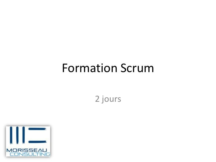 Formation Scrum     2 jours