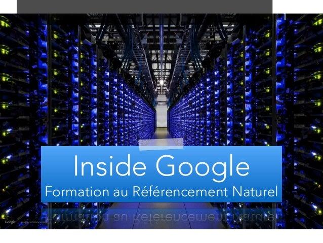 P Inside Google Formation au Référencement Naturel 1