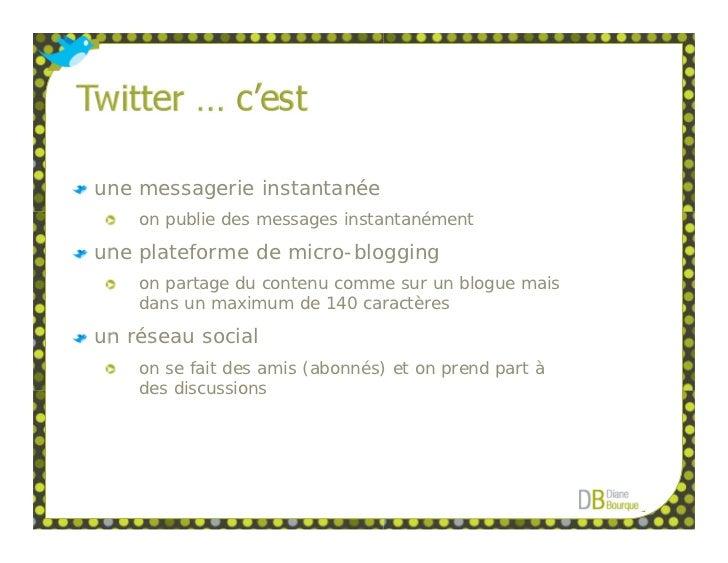 Twitter Pour Débutants Slide 3
