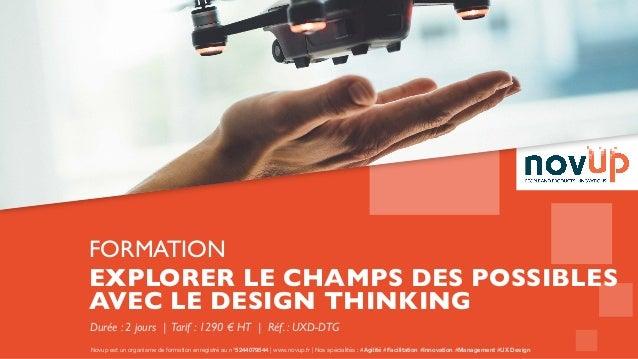 Novup est un organisme de formation enregistré au n°5244079544 | www.novup.fr | Nos spécialités : #Agilité #Facilitation #...