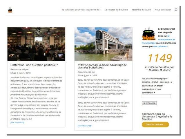 Dispositif de veille collaborative de la BMC Insa de Lyon* *Marine Darmochod & Guillemette Trognot:: INTERVENTION AUPRÈS...
