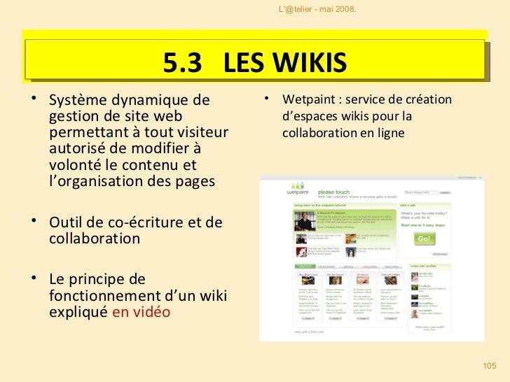 <ul><li>Système dynamique de gestion de site web permettant à tout visiteur autorisé de modifier à volonté le contenu et l...