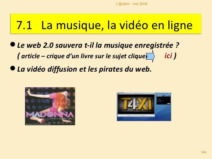 <ul><li>Le web 2.0 sauvera t-il la musique enregistrée ?  </li></ul><ul><li>( article – crique d'un livre sur le sujet cli...