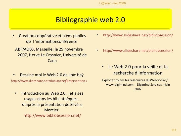 <ul><li>Création coopérative et biens publics de  l'informationconférence  </li></ul><ul><li>ABF/ADBS, Marseille, le 29 no...