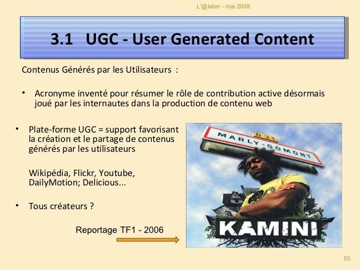 Pour 100 personnes en ligne : 1 personne va créer un contenu inédit, 10 vont interagir avec le contenu créé et l'enrichir ...