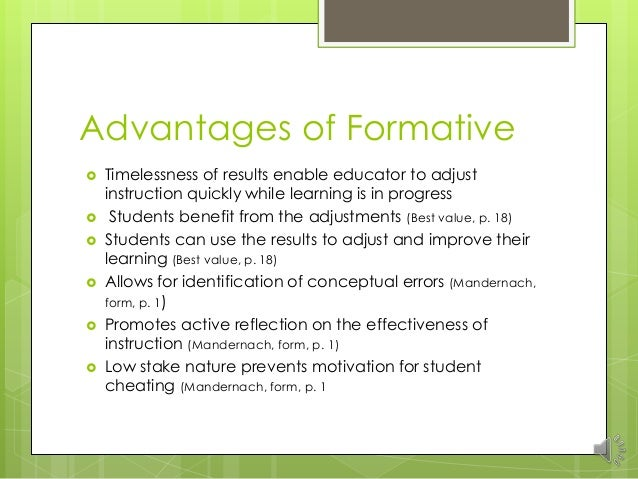 essays on formative assessment Compare formative and summative forms of assessment education essay we have not fundamentally restructured the way our schools function we need to stop, take a step back, and ask ourselves some hard questions about the tenets that define our work today.