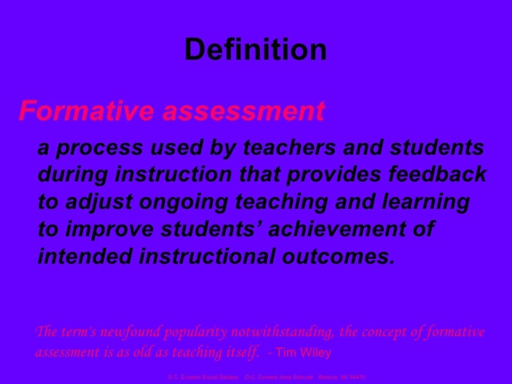 formative assessment research paper Formative classroom assessment and benjamin s bloom: theory, research, and implications abstract although much recent attention has focused on gaps in the achievement of different.
