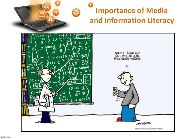 the importance of information literacy essay A number of international reports by for instance the oecd highlight the  importance of information literacy as regards educational policy, ict in schools  and 'the.
